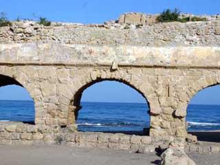 Roman Aqueduct, Caesarea