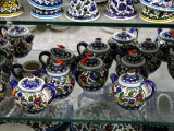 Beautiful hand-made crafts in-house. Hebron, West Bank
