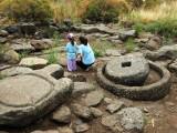 Ancient oil press, Golan