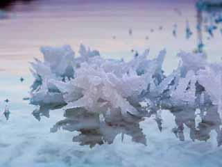 Dead Sea salt formations